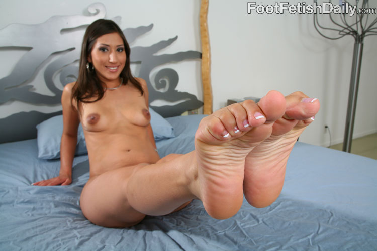 Alexis breeze foot fetish