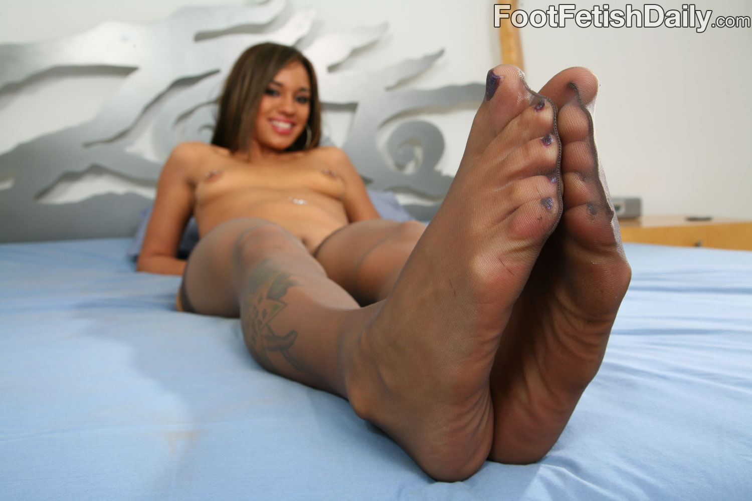 tease foot fetish alicia