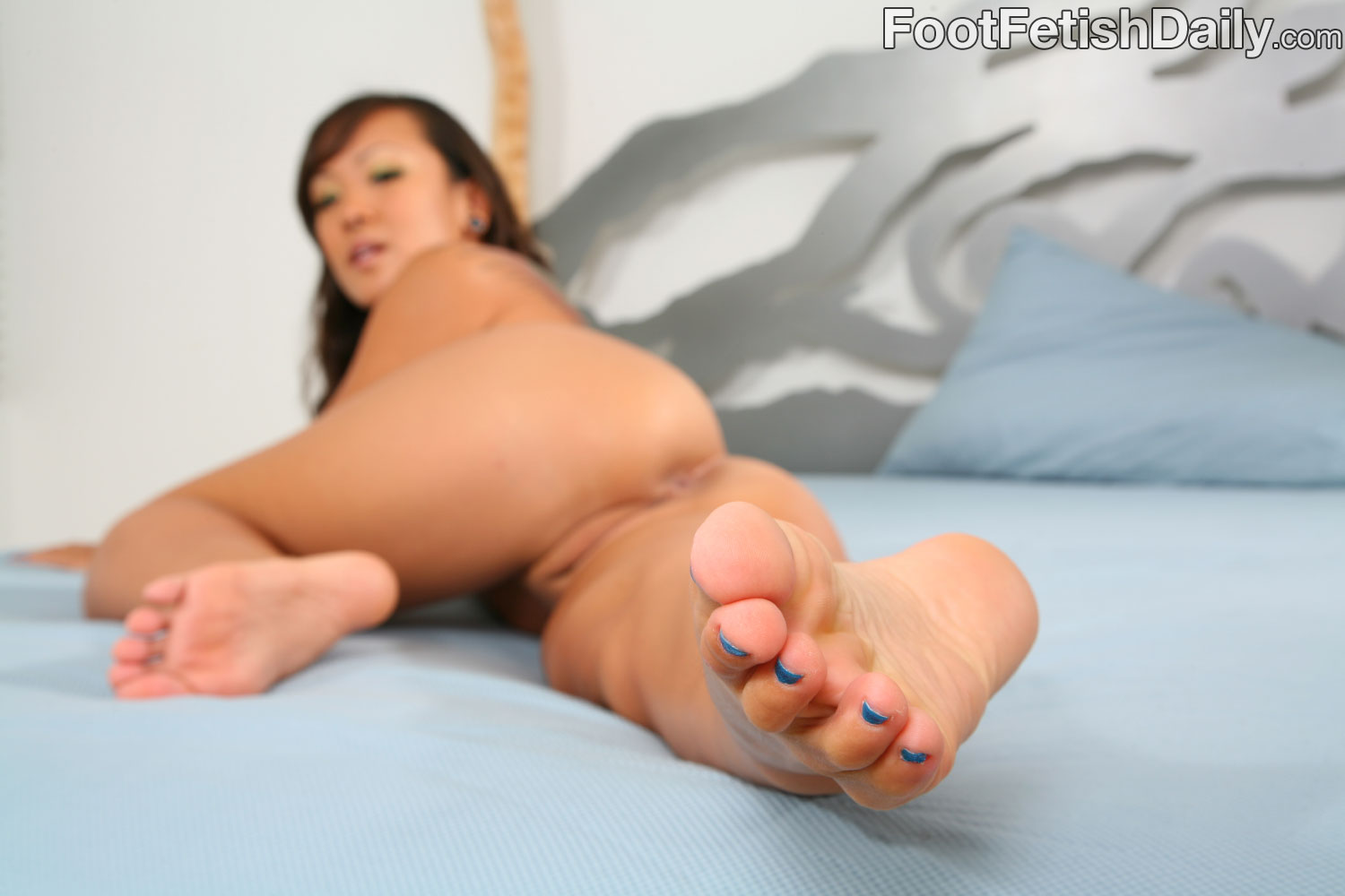 With female asiian foot fetish