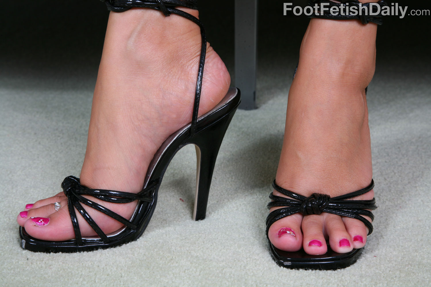 high heels foot fetish